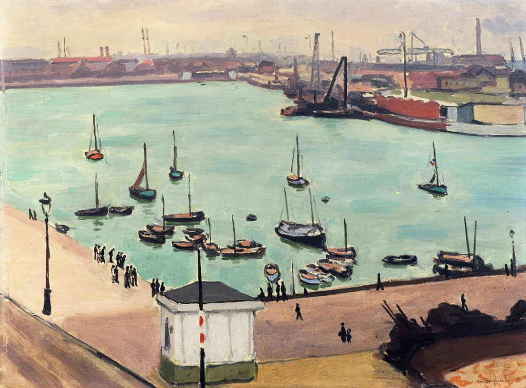 ???? Albert Marquet - The Port at Le Havre