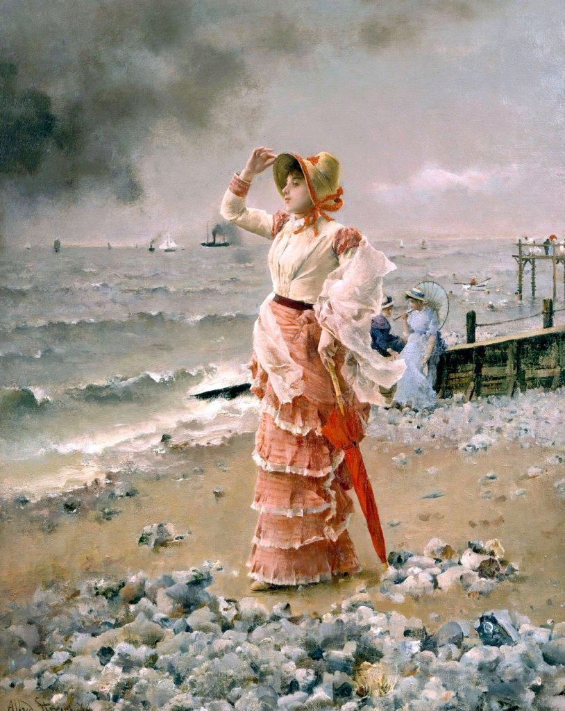 Alfred Stevens 1881 - Al Le Havre