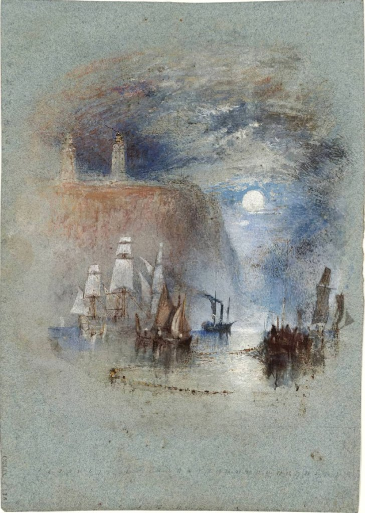 William Turner 1832 - Light Towers of la Heve