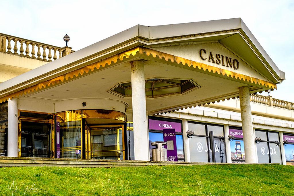 Rundown casino in Le Treport