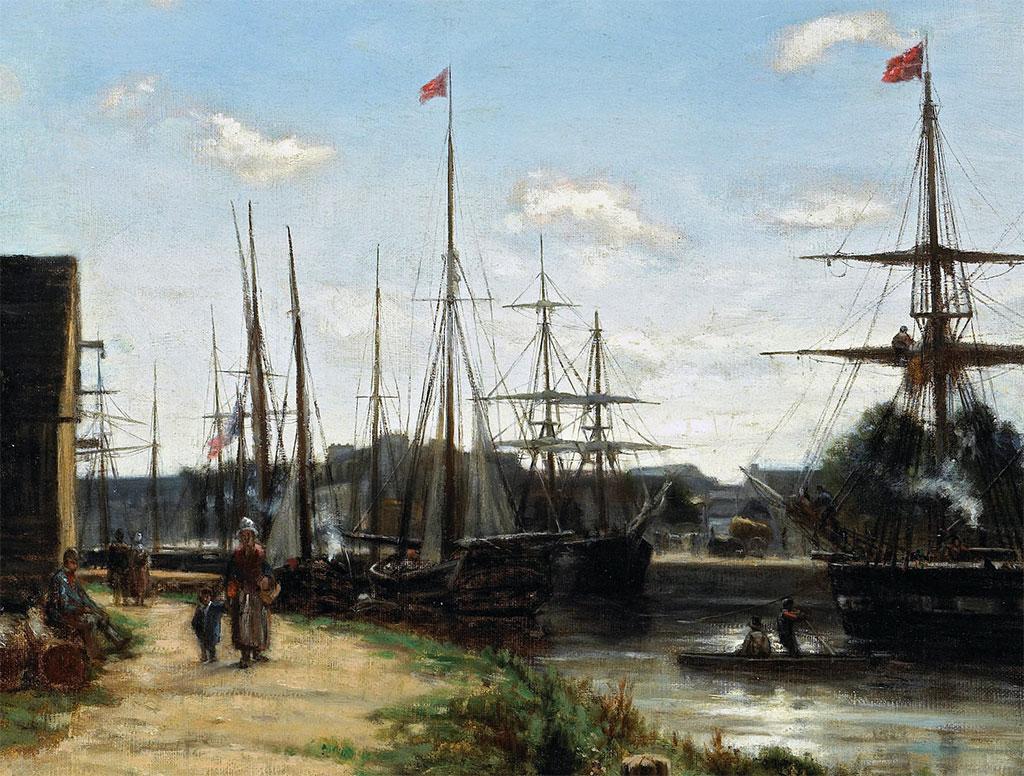 1858 - Stanislas Lepine  -  Caen, L'Orne, Cours Caffarelli