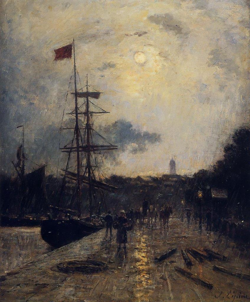 ???? Stanislas Lepine - A Quay at Caen