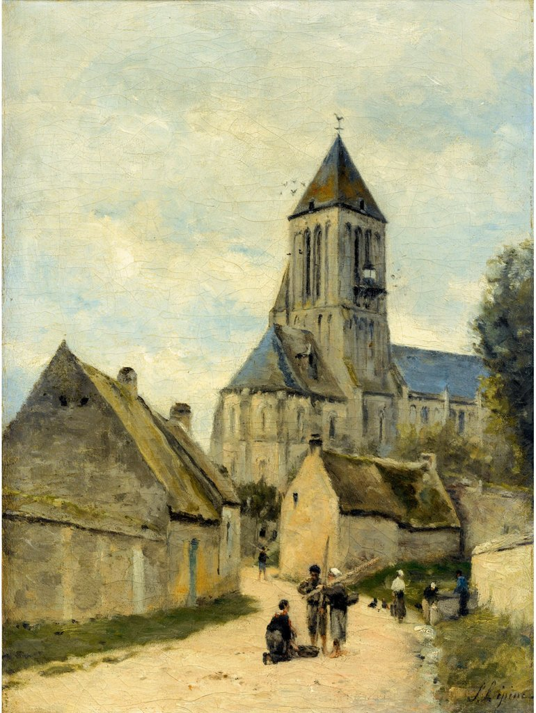 ???? - Stanislas Lepine  - Saint-Samson Church at Ouistreham in Normandy