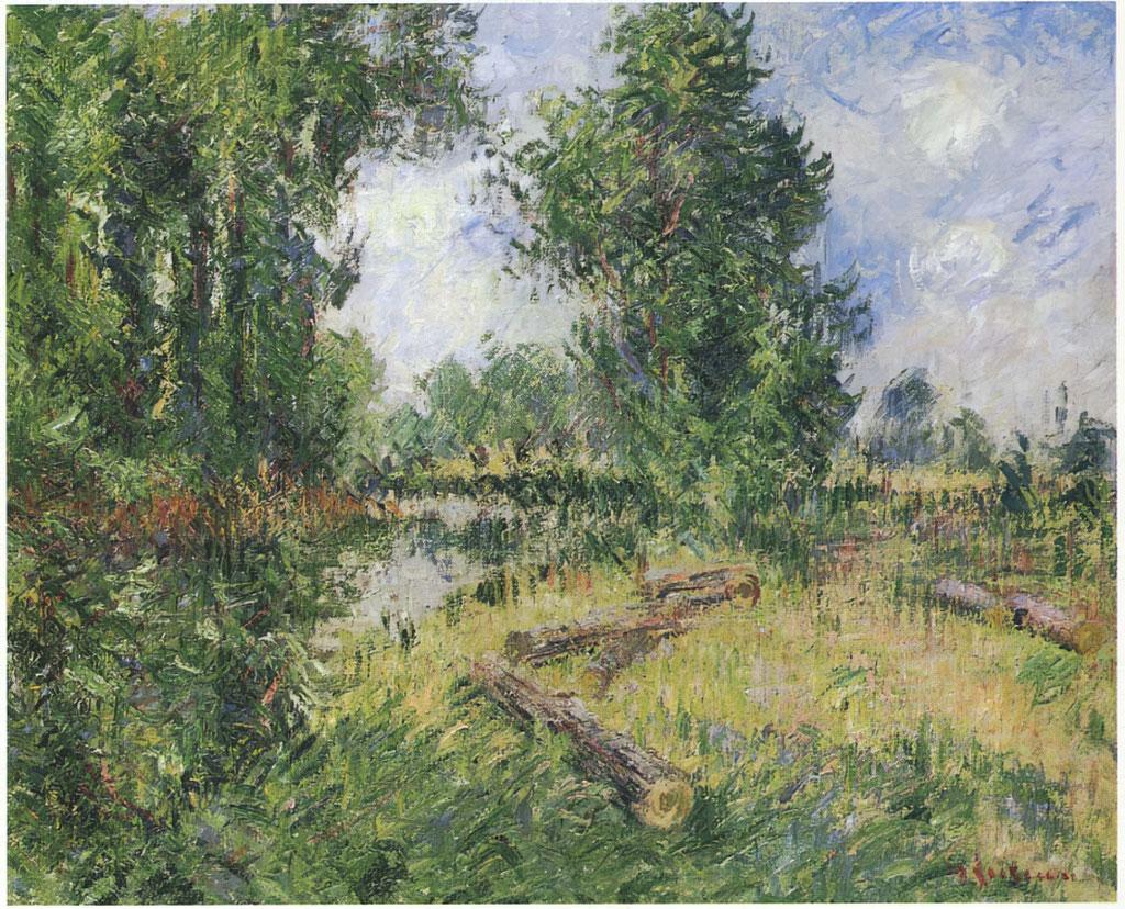 ???? Gustave Loiseau  - By the Orne River near Caen