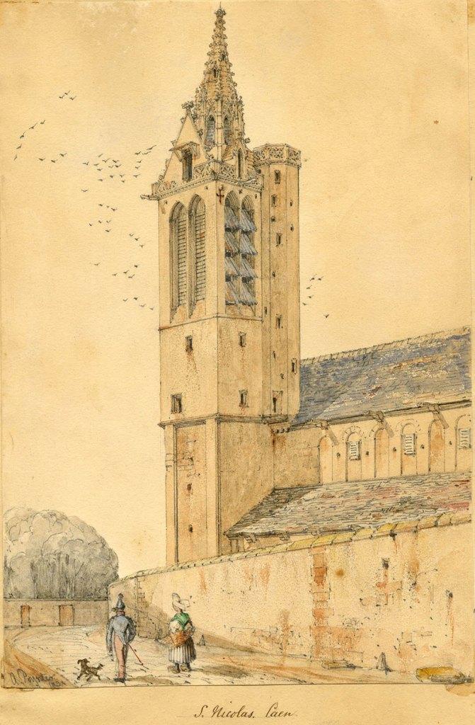 Ambrose Poynter 1831 - St-Nicholas, Caen