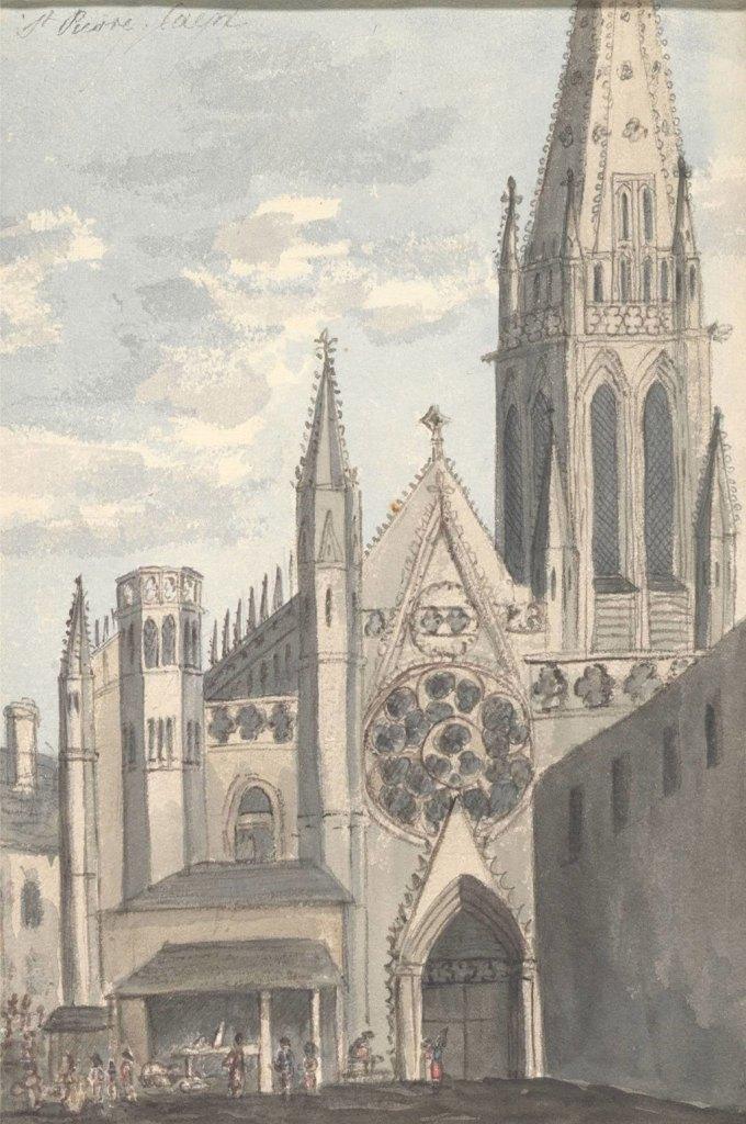 Anne Rushout 1824 - Saint-Pierre, Caen
