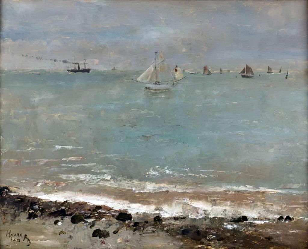 ???? - Alfred Stevens - Le Havre