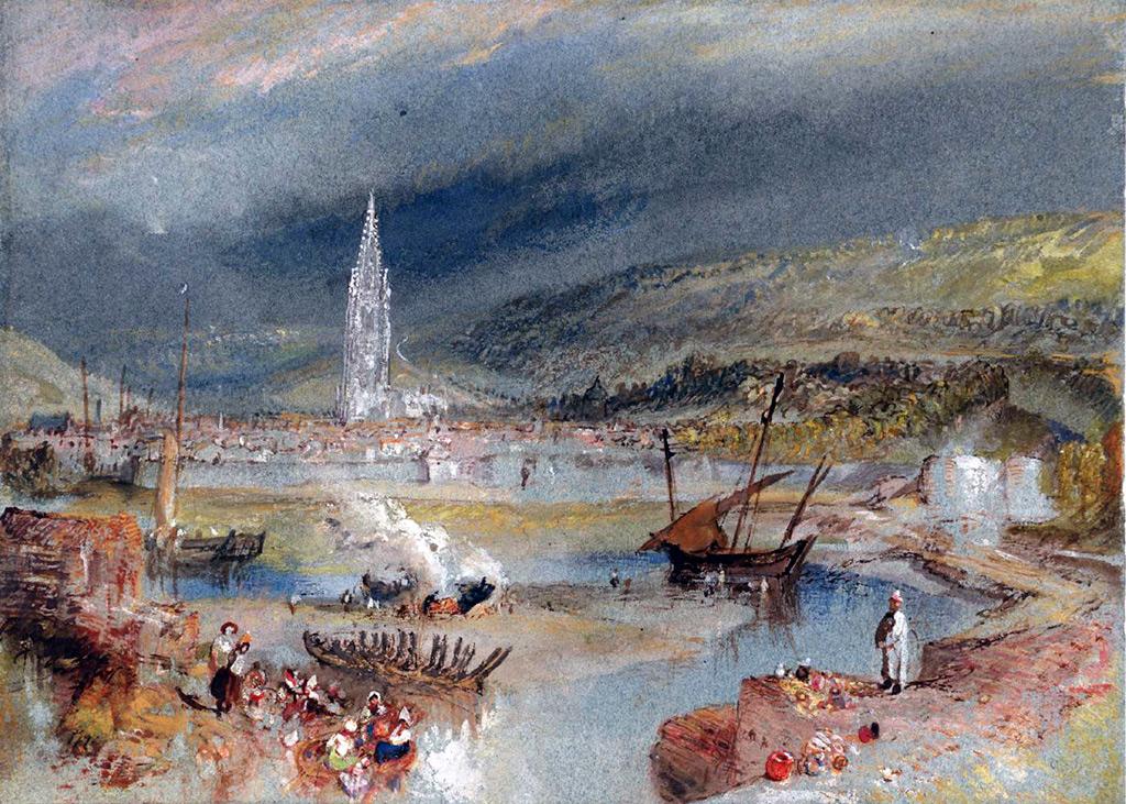 William Turner 1832 - Harfleur