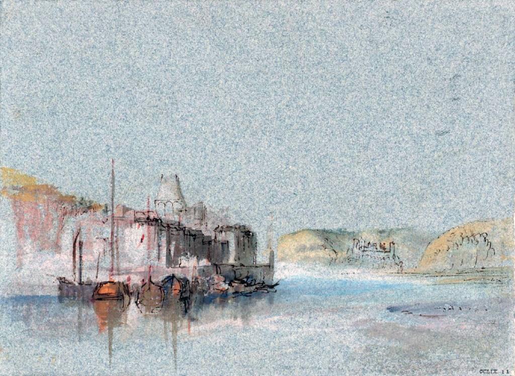 William Turner 1832 - Quillebeuf, Normandy