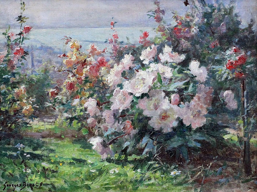???? - George Binet - Garden at Sainte-Adresse