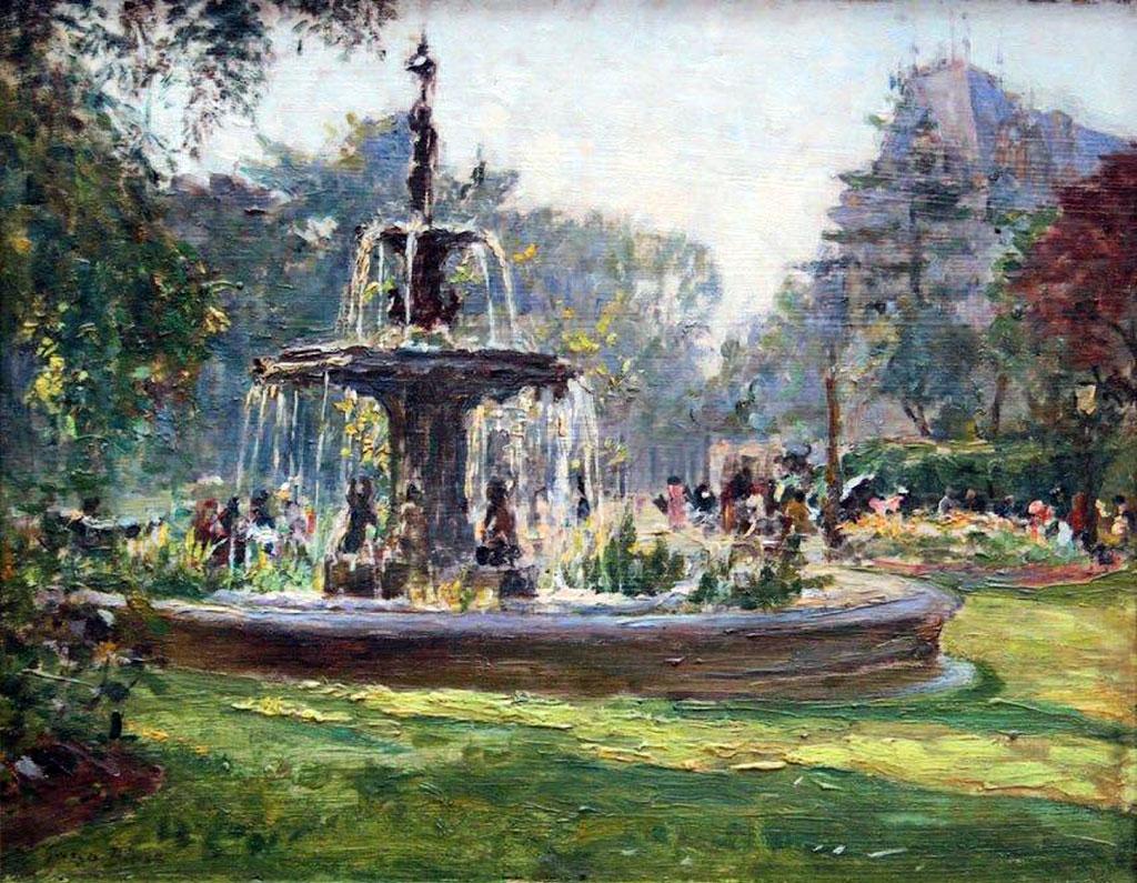 ???? - George Binet - Le Havre CityHall Fountain