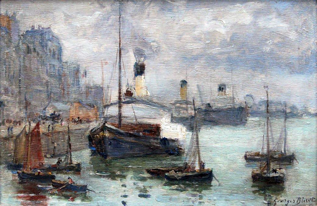 ???? - George Binet - The Harbour of Le Havre