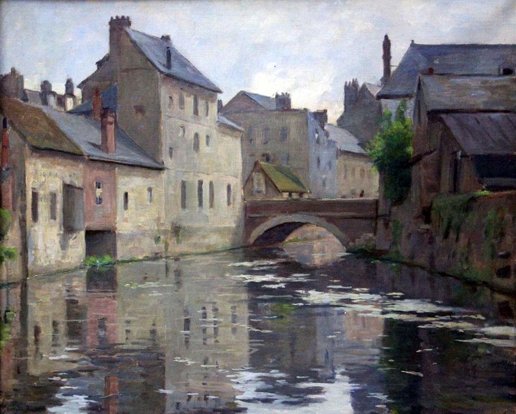 ???? - George Binet - The Lezarde at Harfleur