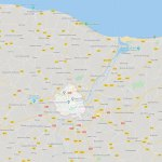 Caen - The Artists - Overview and Map