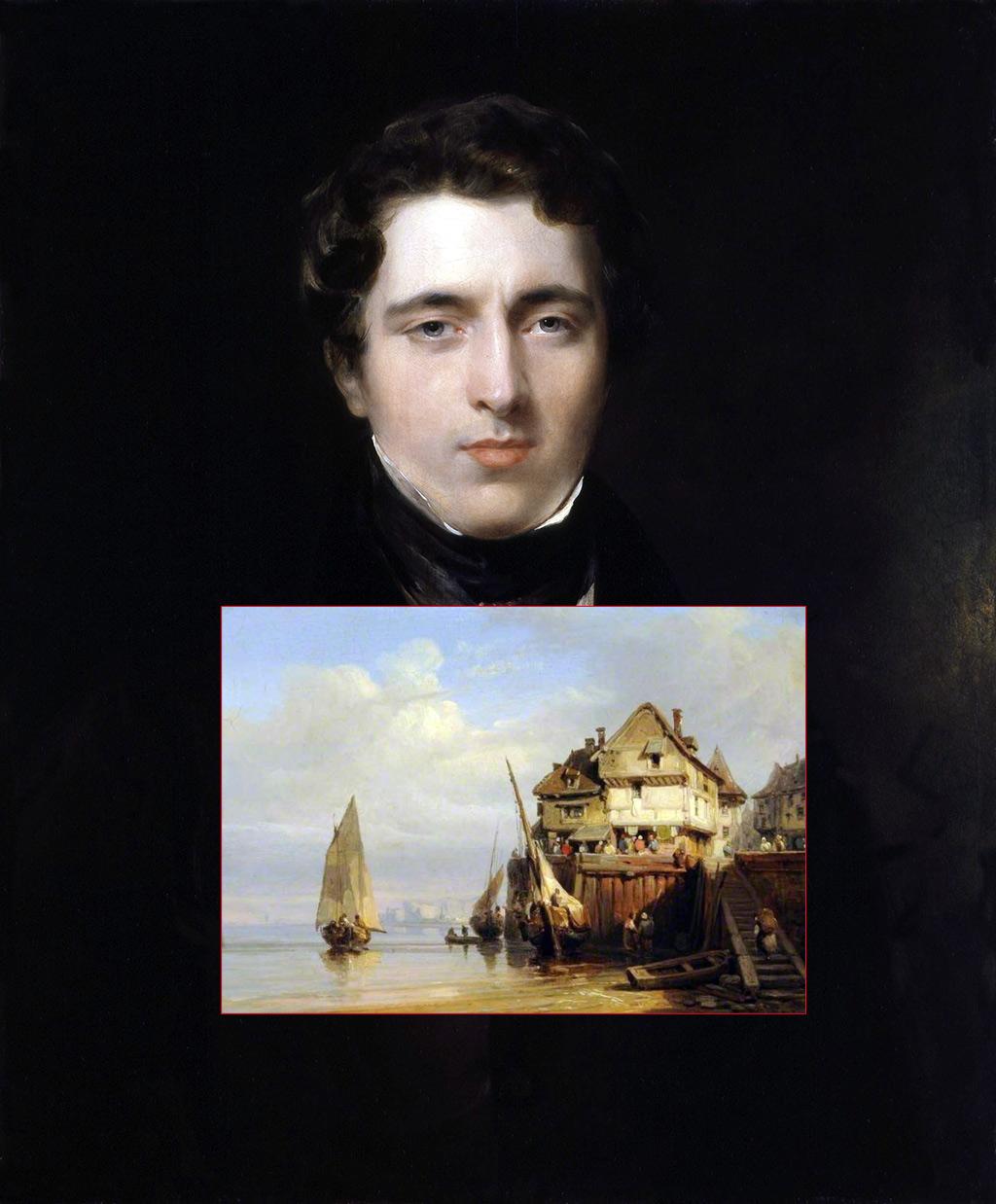 Cherbourg – The Artists – Bonington, Richard Parkes