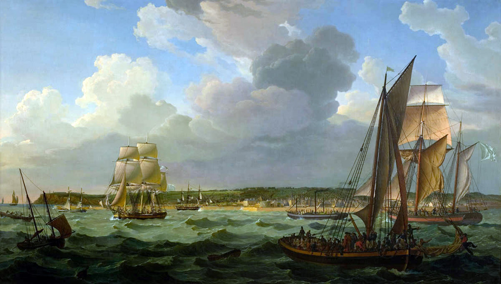 1824 - Louis-Philippe Crepin - Le Havre, seen from the sea
