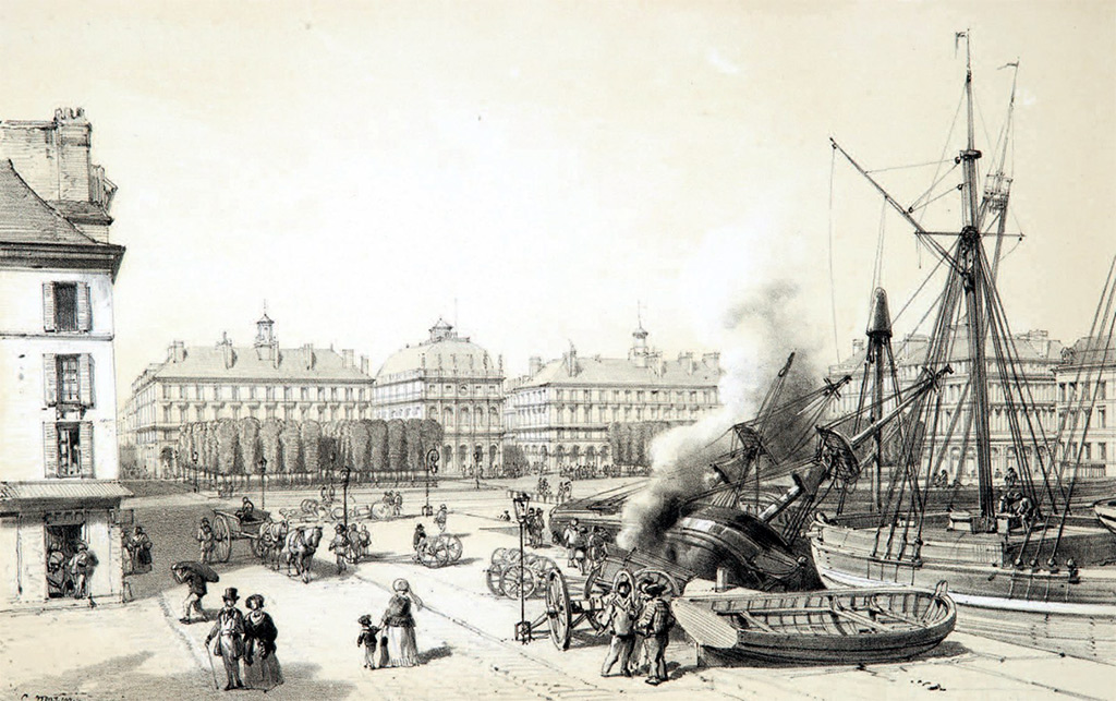 ???? - Charles Louis Mozin - Le Havre and its surroundings