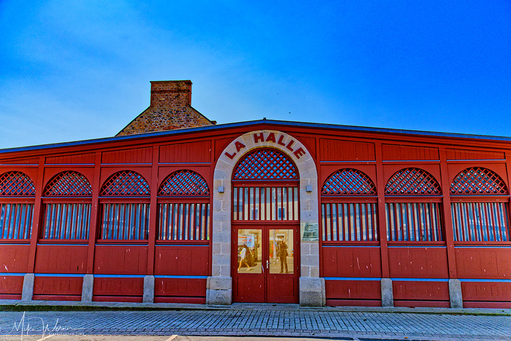 Covered fish market, built early 20th century