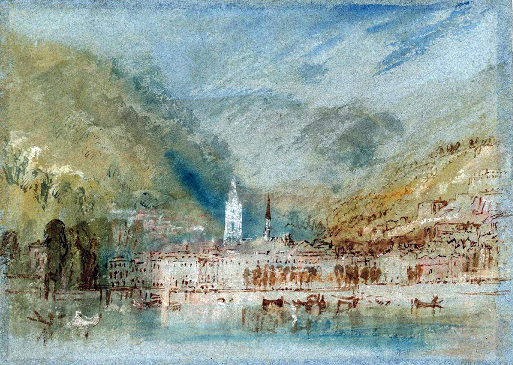1832 - Joseph Mallord William Turner - Caudebec-en-Caux from the River