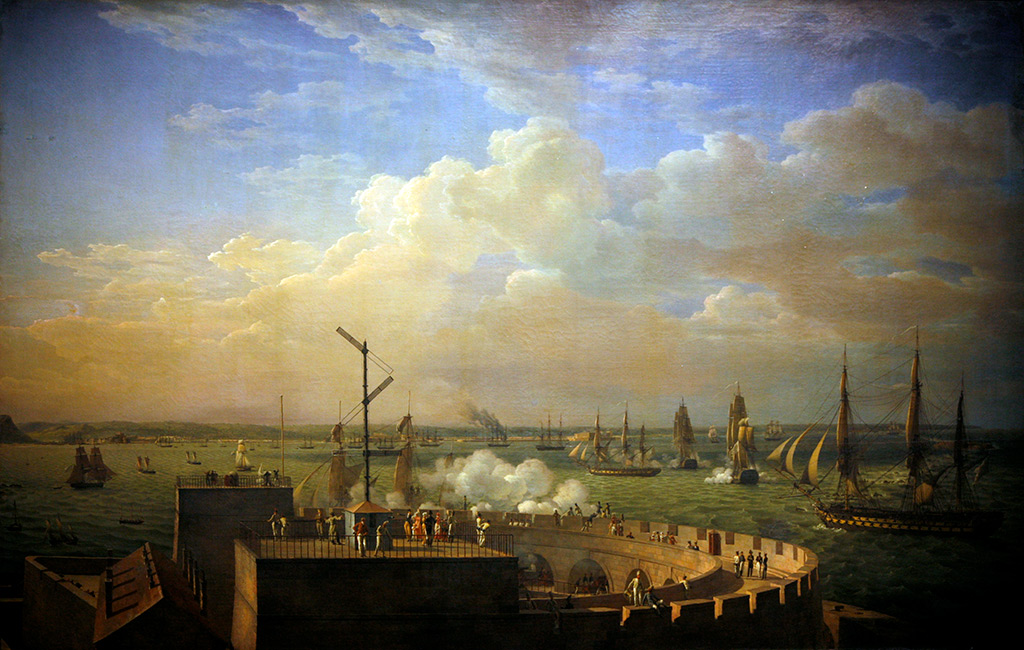 1822 - Louis Philippe Crepin - Cherbourg Harbour