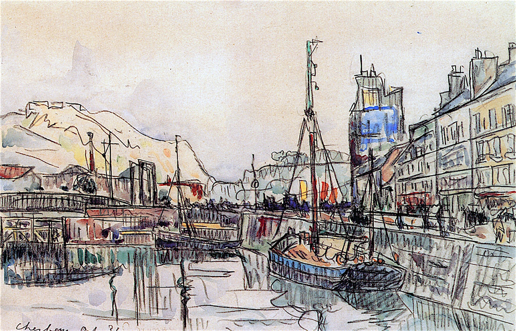 1932 - Paul Signac - Cherbourg