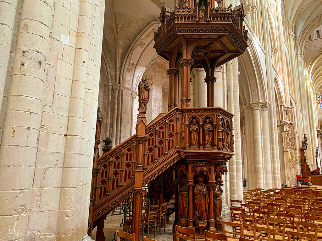 The Trinity Abbey Pulpit