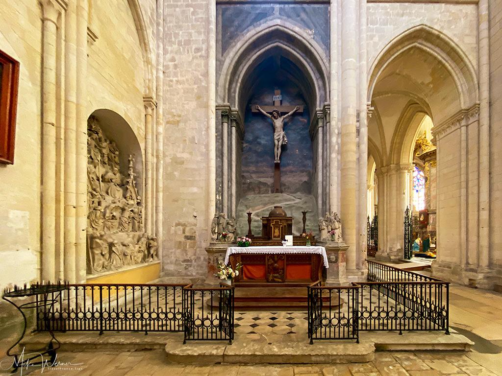 The Calvary Chapel of the Trinity Abbey of Fecamp