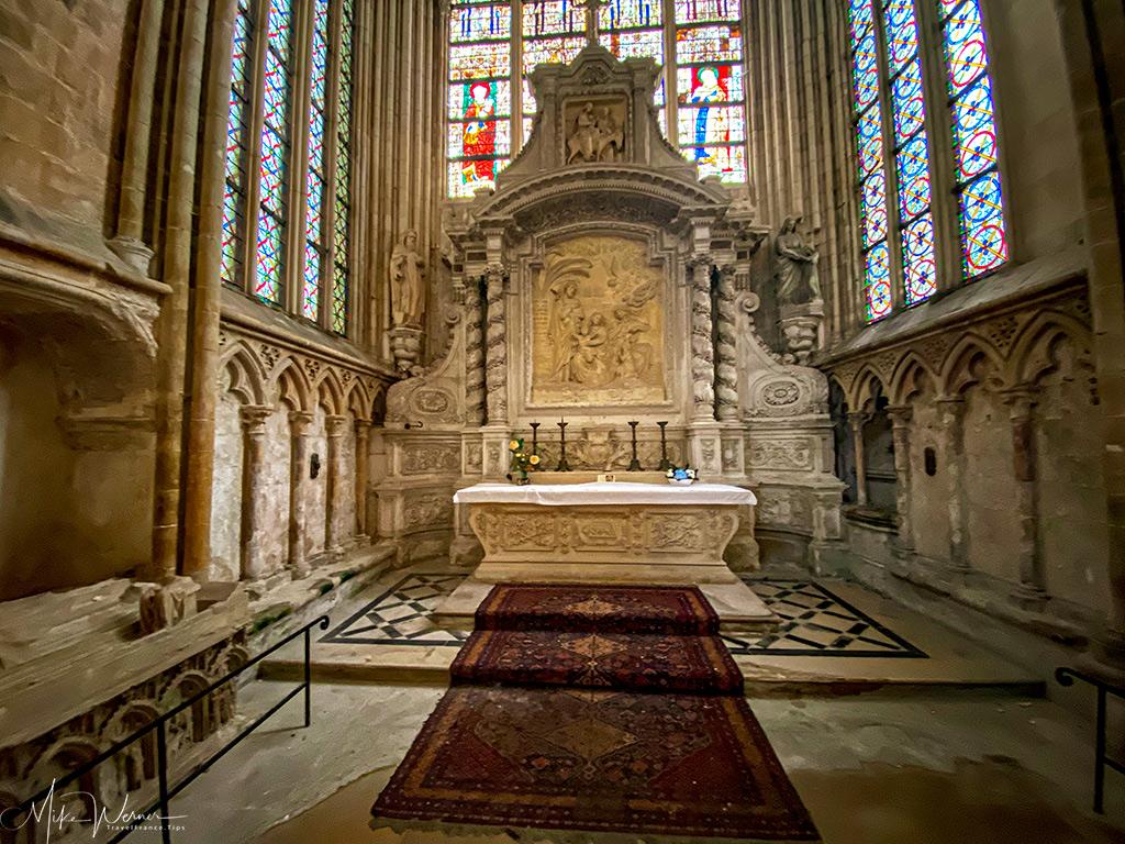 Saint Joseph Chapel of the Trinity Abbey of Fecamp