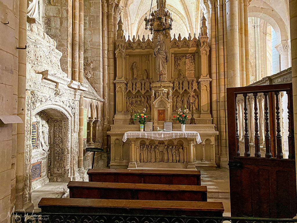 Saint Guillaume Chapel of the Trinity Abbey of Fecamp