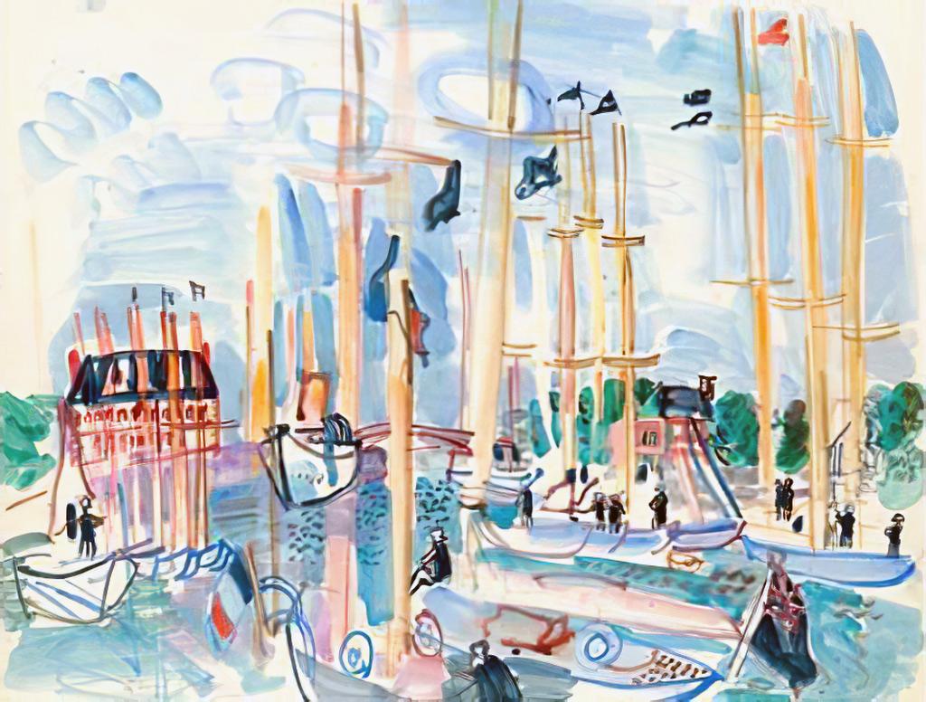 1926 - Raoul Dufy - Deauville