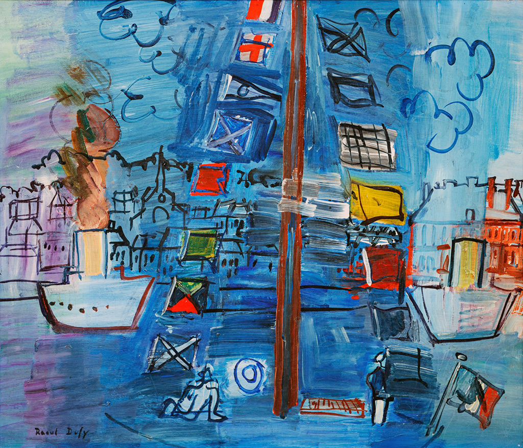 1929 - Raoul Dufy - The Deauville basin
