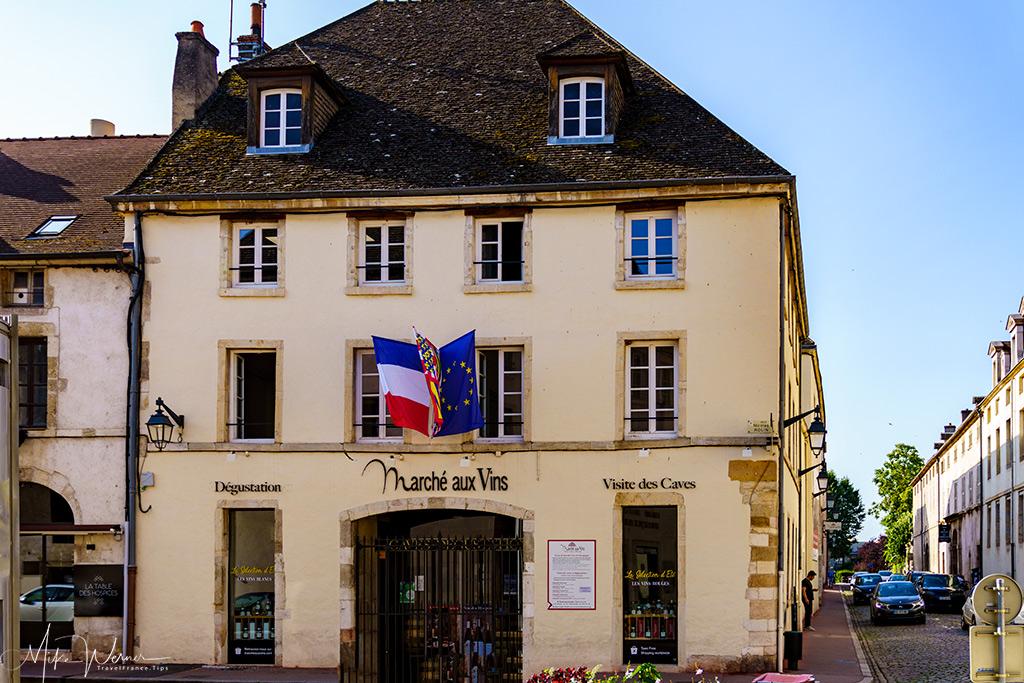 Beaune Burgundy Wine Market (Marche aux Vins)