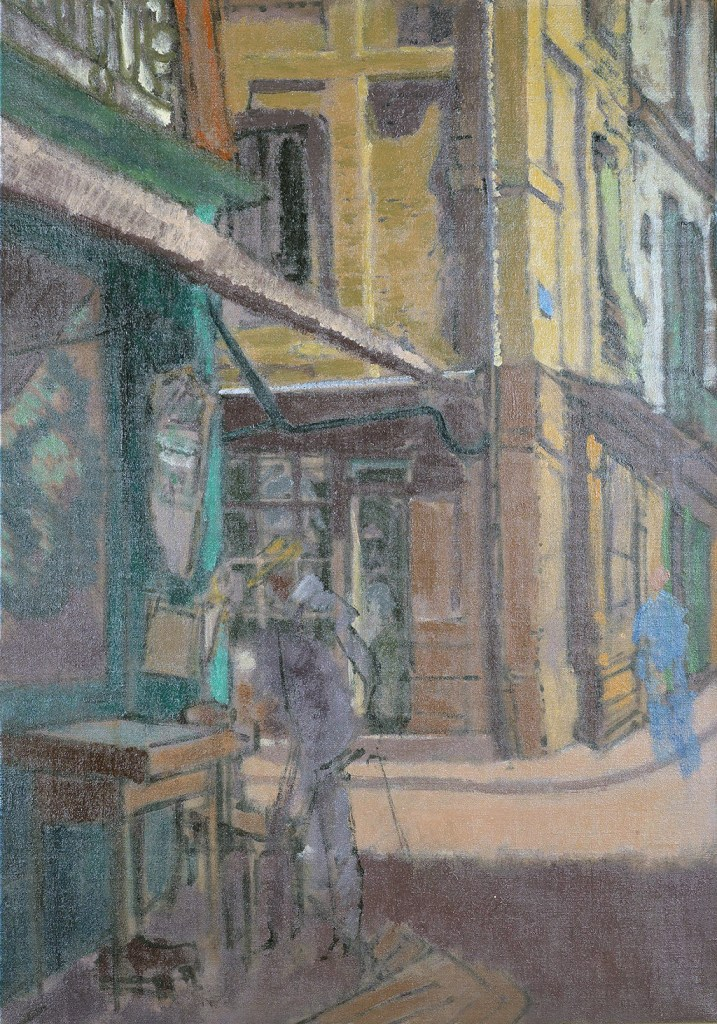 1906 - Jacques-Emile Blanche - A Street in Dieppe