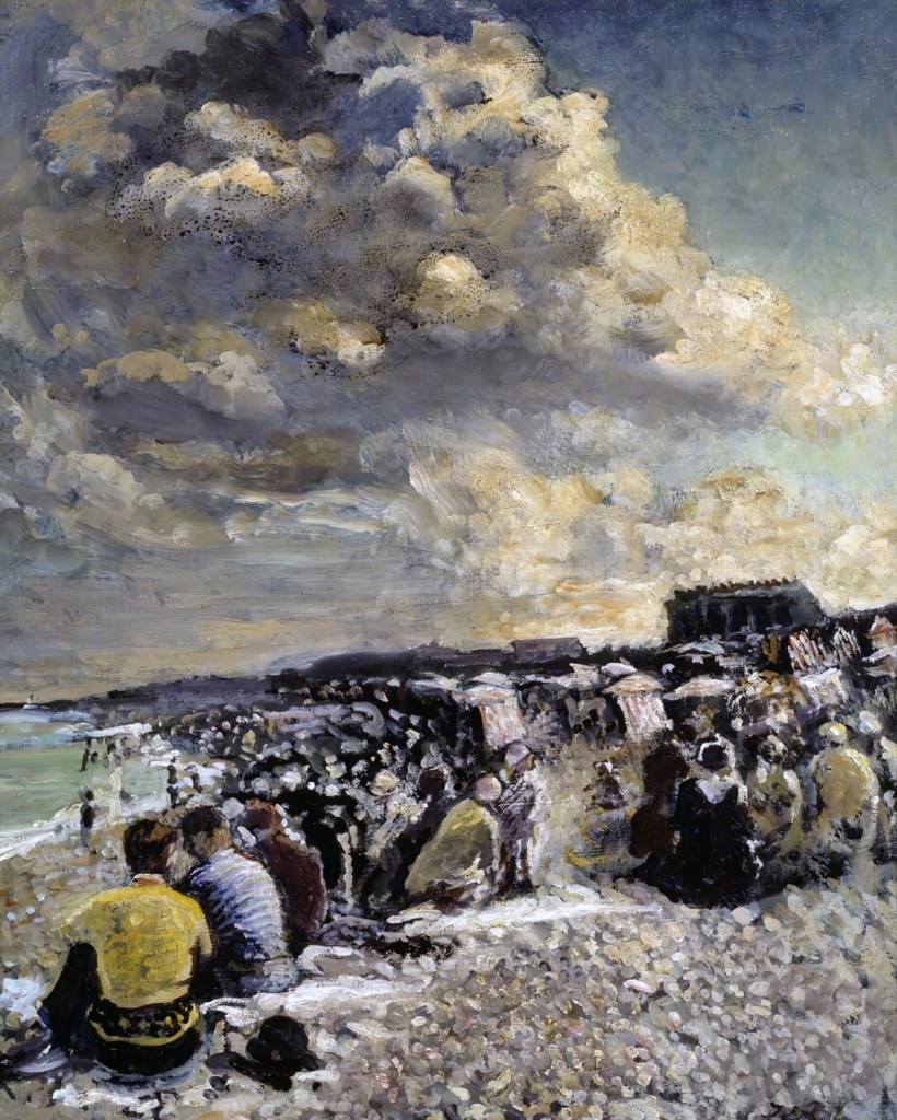 1934 - Jacques-Emile Blanche - August Morning, Dieppe Beach