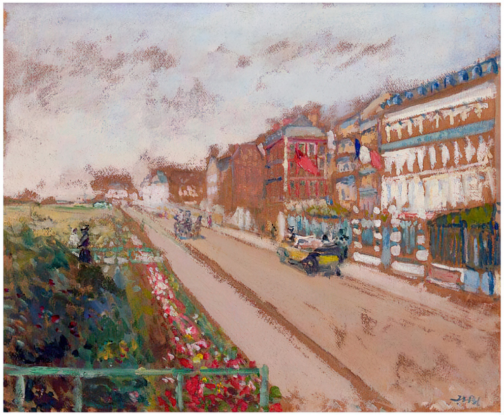 ???? - Jacques-Emile Blanche - The Front of Dieppe