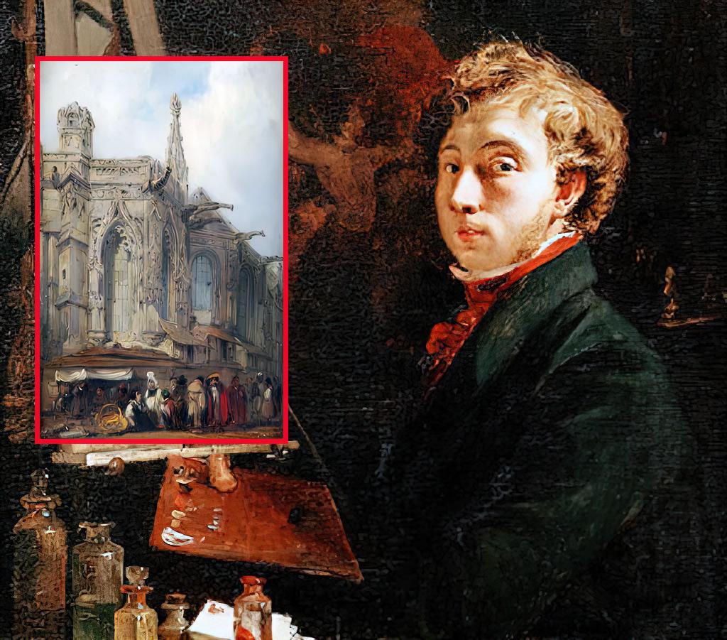 Caen – The Artists – Bonington, Richard Parkes
