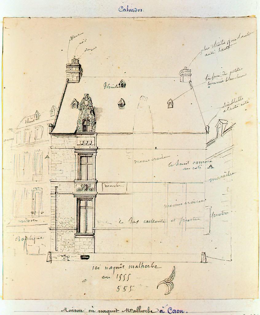 1822 - de Jolimont - Here was born Malherbe in 1555
