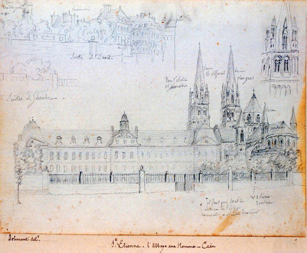 ???? - de Jolimont - Saint-Etienne. The Abbey of Men. Caen