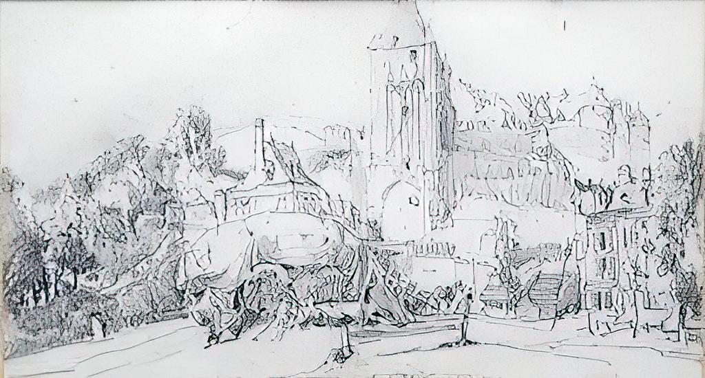 ???? - John Burgess Jr. - Dieppe, the Chateau and the Porte de la Barre