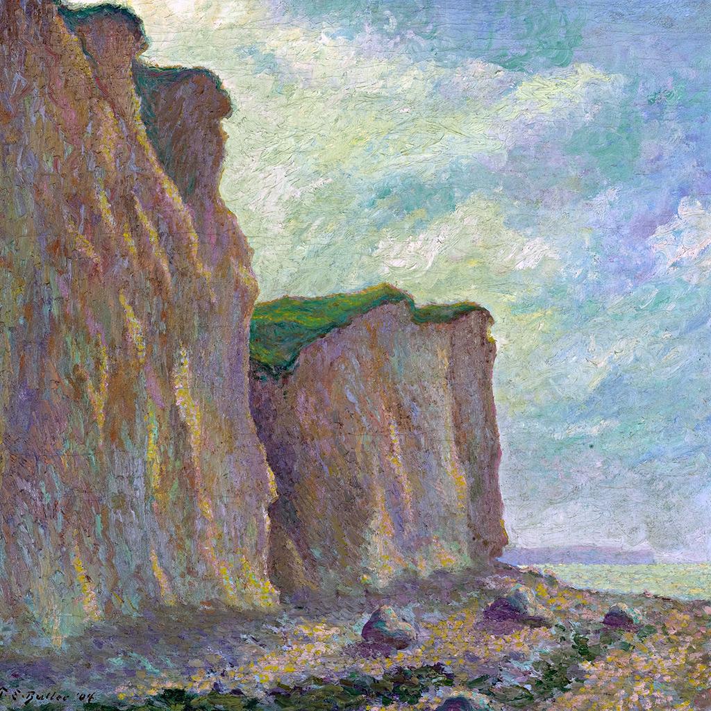 1904 - Theodore Earl Butler - Cliffs