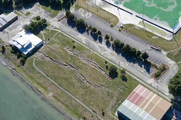 Aerial image of Wainoni Avon Loop Rowing Club. Feb 27, 2011.