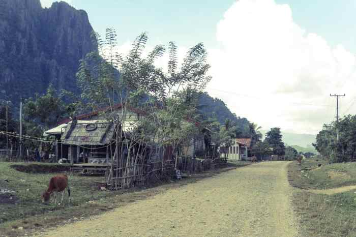 Villages outside Vang Vieng