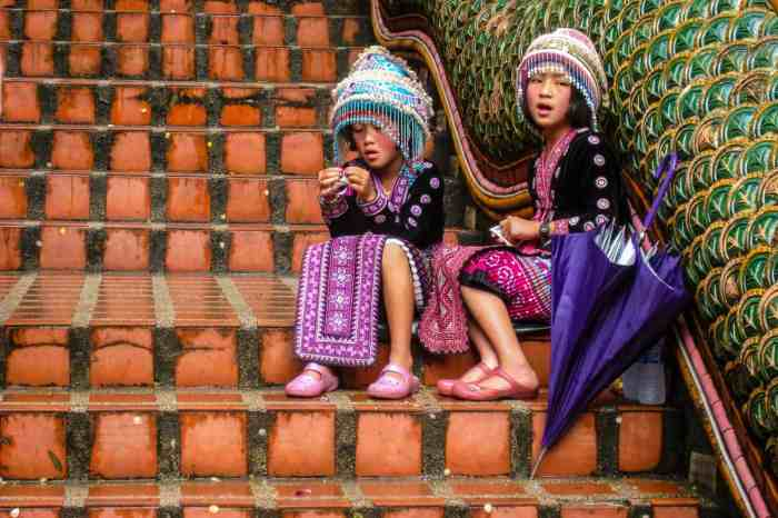 Children in Chang Mai
