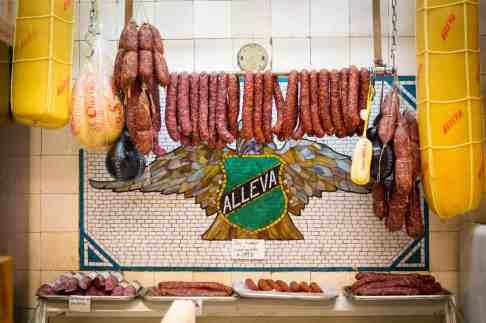 Handmade Sausages at Alleva