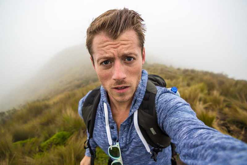 Hiking 15,407ft in a Hailstorm to the Top of the Pichincha Volcano in Quito, Ecuador