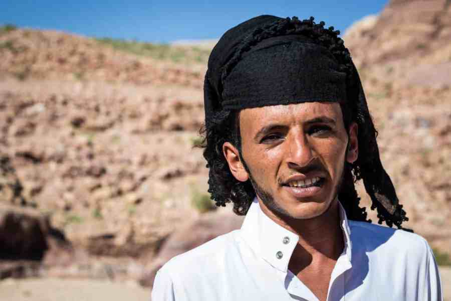 A local Bedouin from Petra