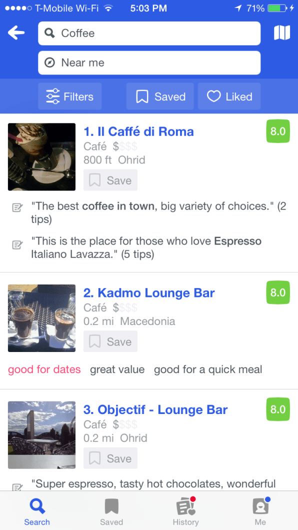 Foursquare, Best Travel Apps