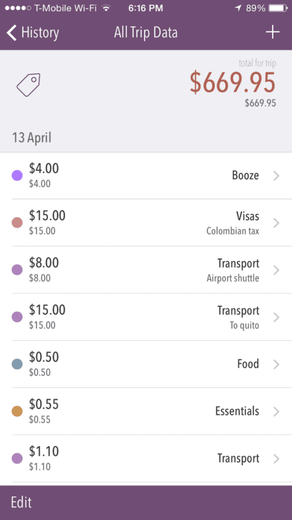 Trail Wallet, Best Travel Apps