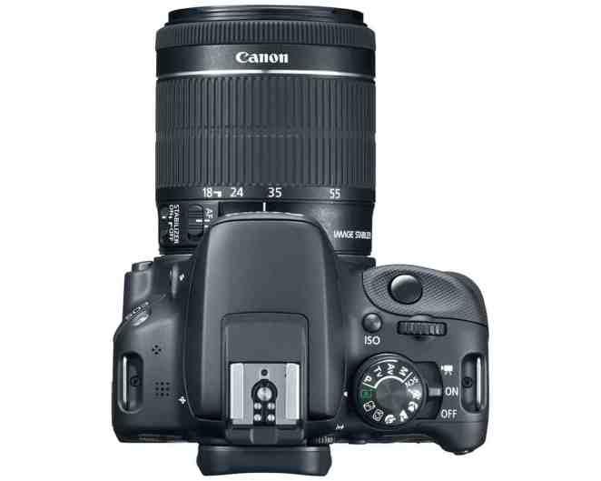 Canon EOS Rebel SL1 Top View