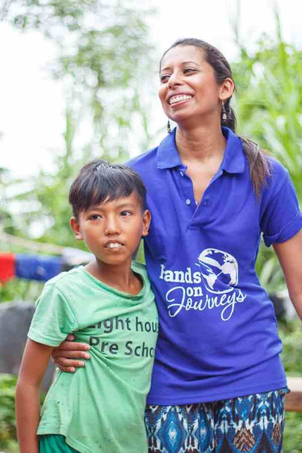 Simla Sooboodoo in the Dhatta Village